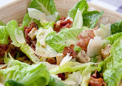 Caesar salad or dressing contains the taste of umami.