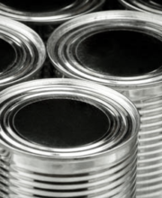 #10 tin cans for custom sauce packaging
